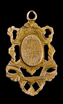 672: An early Southern League medal from season 1896-97