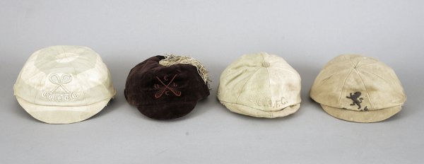 680: Four Cambridge University sporting caps awarded to