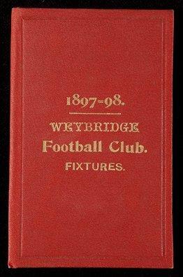 685: C.O.S. Hatton's member's tickets for Weybridge FC,