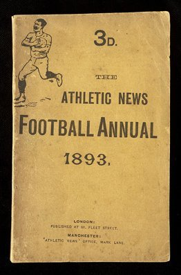 686: Hatton's copy of the Athletic News Football Annual