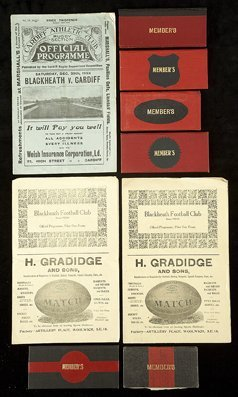 690: C.O.S. Hatton's member's tickets for Blackheath Ru