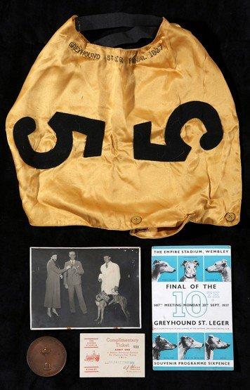 11: Memorabilia relating to the 1937 St Leger finalist