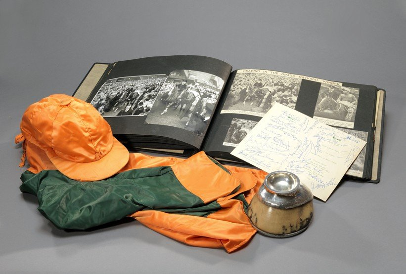 13: A collection of memorabilia relating to the 1957 Gr