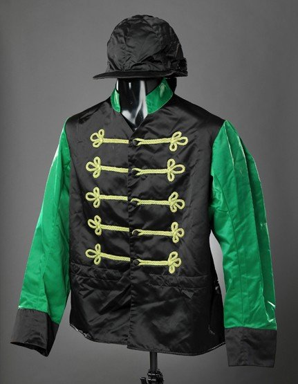 20: A collection of vintage racing silks removed from t
