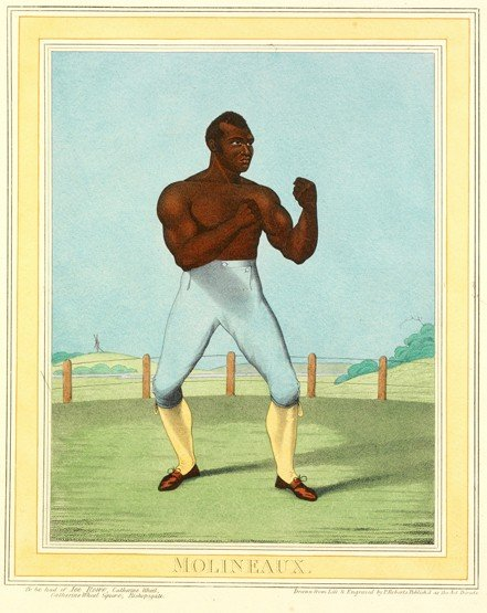 241: A pair of 19th century prints of bare knuckle pugi