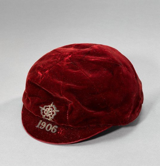 468: A red England v Wales international cap 1906, in f