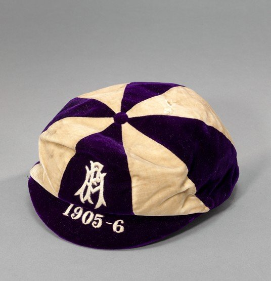 469: A purple & white Football Association internationa