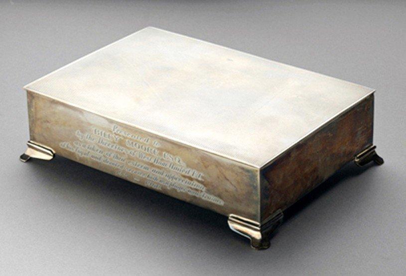 539: West Ham United memorabilia, comprising: a silver