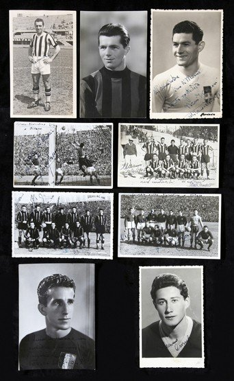 742: A collection of 24 postcards of Italian footballer