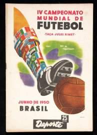 834: 1950 World Cup edition of the Brazilian magazine '