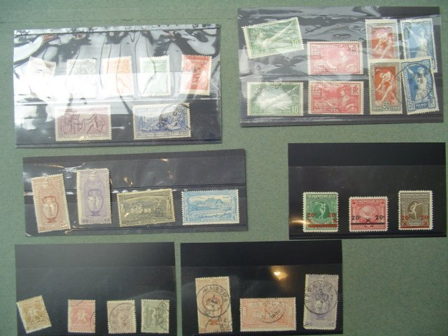 21: A collection of postage stamps issued in celebratio