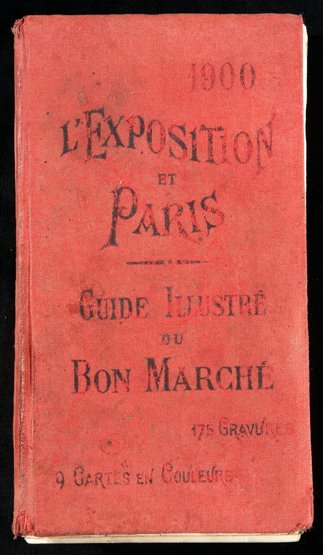 22: Guide illustre du Bon Marche: L'Exposition et Paris