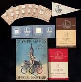 349: 1948 London Olympic Games memorabilia, comprising