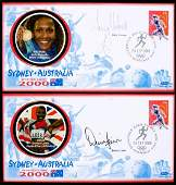 574: A collection of 16 postal covers from the 2000 Syd