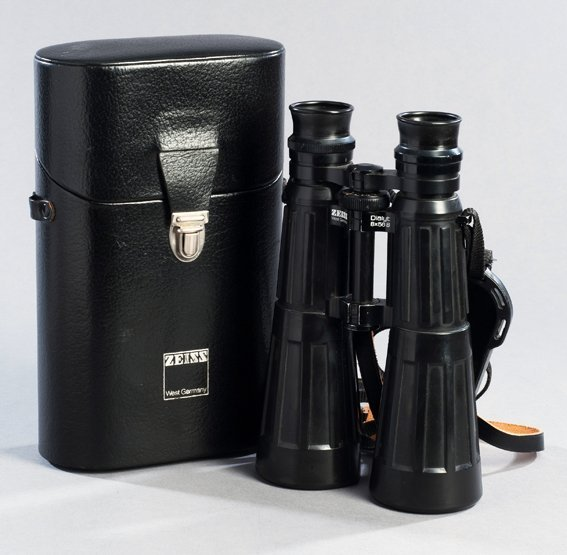 213: A cased pair of Carl Zeiss Dialyt 8x56 sportsman's