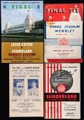 Sunderland football programmes, the earliest an away at