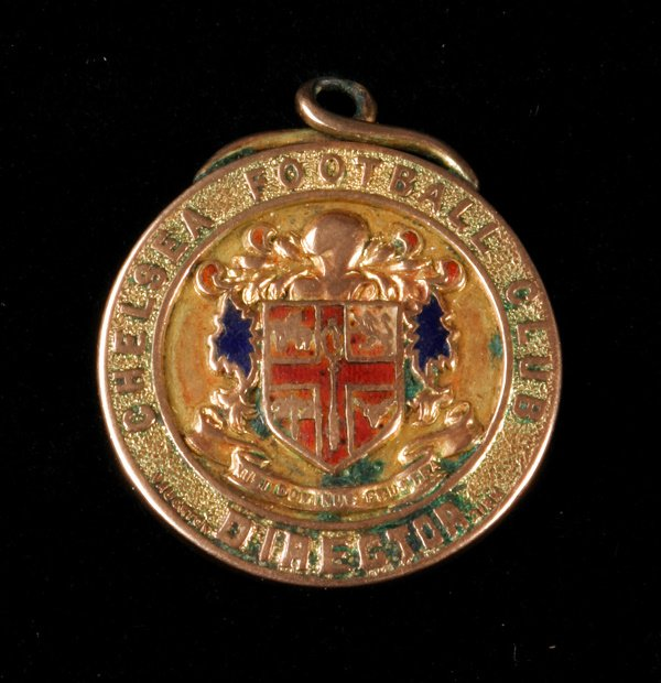 2: A 9ct. gold & enamel medal commemorating the inaugur