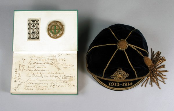 8: A Frank Thompson Northern Ireland international cap