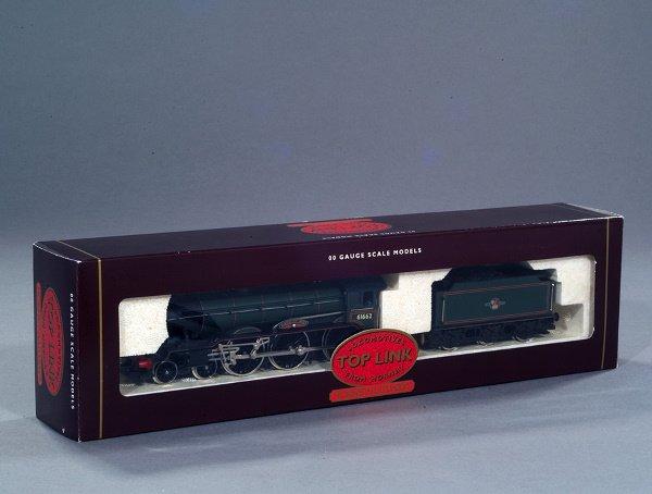 14: A Hornby 00 Gauge model of the locomotive & tender