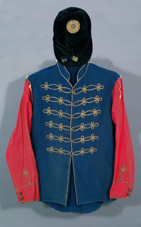 648: A set of King George V's royal racing silks circa
