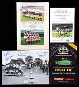 Signed Tottenham Hotspur Memorabilia, including a multi