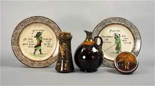 39 A Royal Doulton Kingsware whisky ewer circa 1925 b