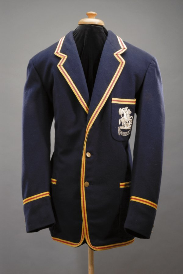 213: Vic Wilson's MCC blazer and cricket bag for the To