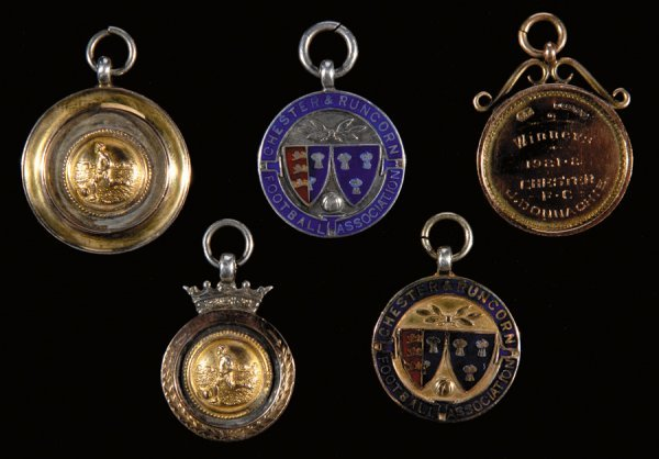 422: A group of five medals relating to the career of J