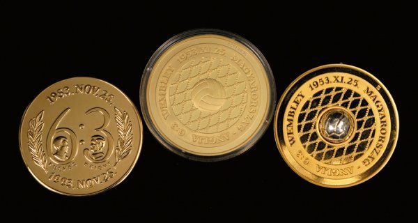 429: A group of three medals minted by the Hungarian F.