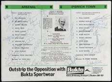 779: Three autographed programmes, a 1978 F.A. Cup fina