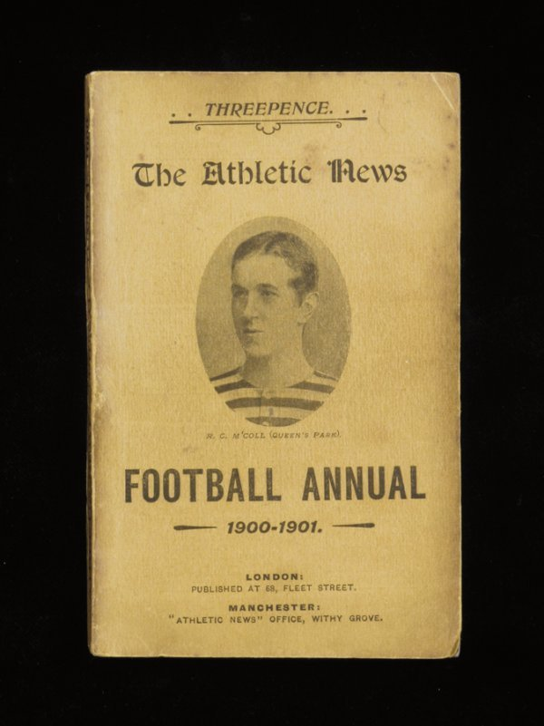 922: The Athletic News Football Annual, four Victorian