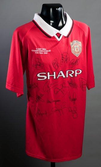 Manchester United 1999 Champions League Final replica