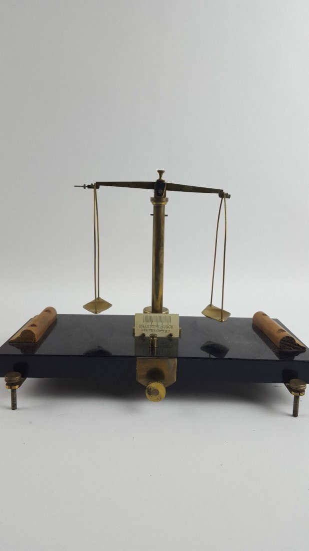 Vintage Chas kohlbusch Apothecary Scale
