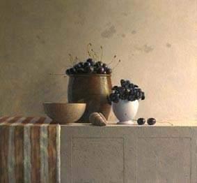 Still Life CHERRIES Julien Landa