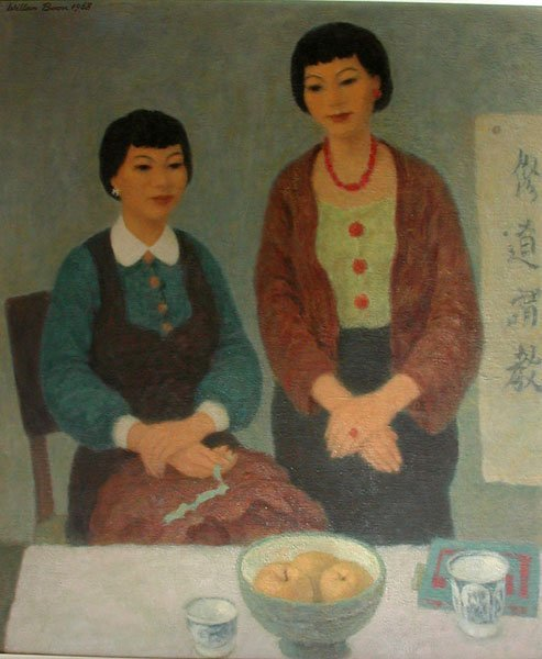 7: Painting SISTERS by Willem Boon