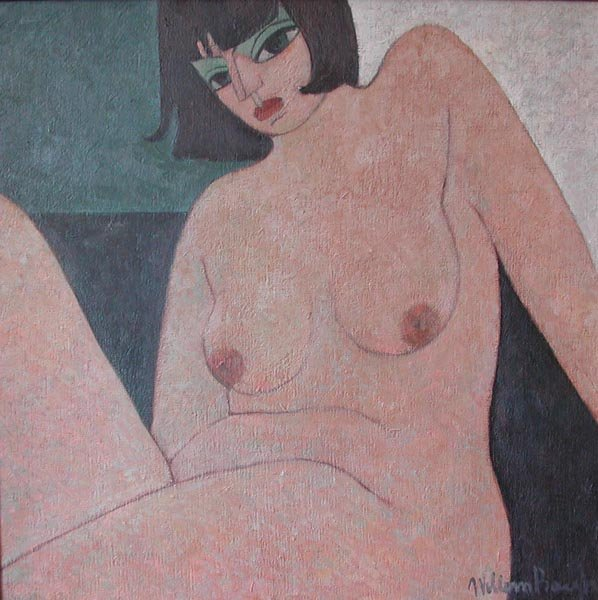 9: Painting NUDE by Willem Borgh