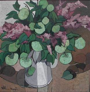 Still Life FLOWERS by Willem Borgh