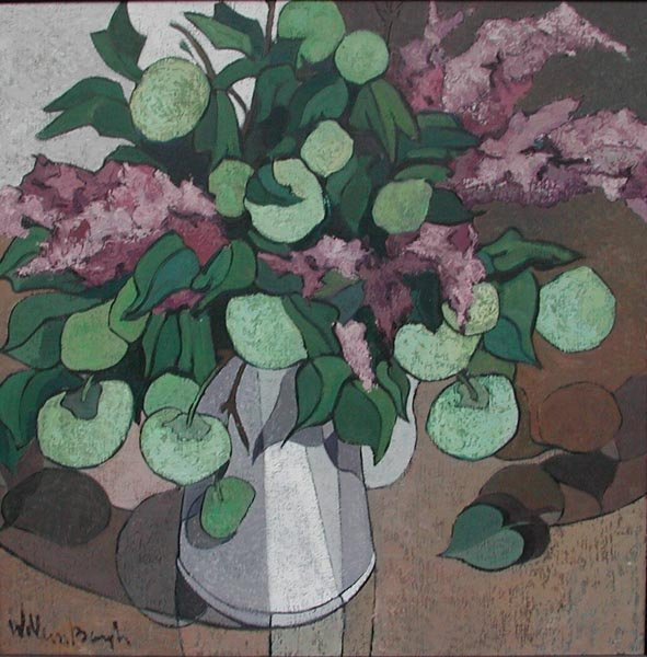 13: Still Life FLOWERS by Willem Borgh