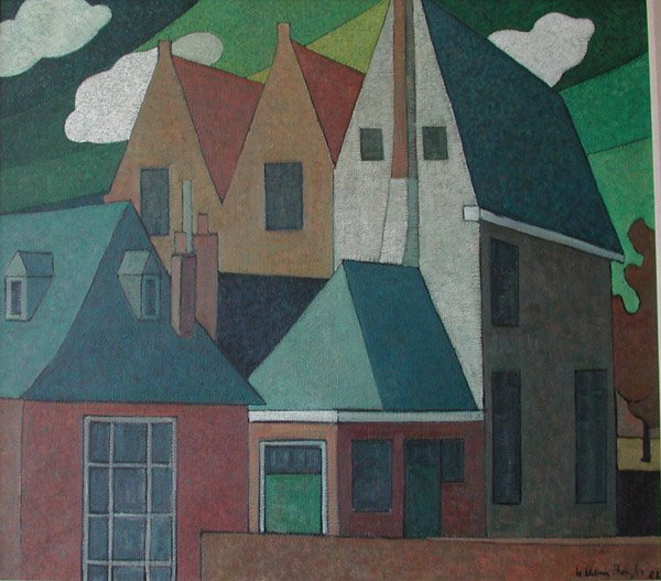 14: Painting TOLL HOUSE by Willem Borgh