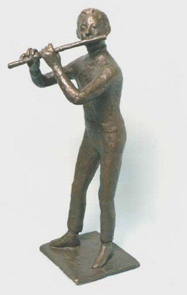 17: Bronze sculpture by Willem Boon