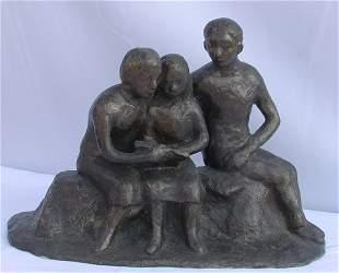 Bronze sculpture by Willem Boon