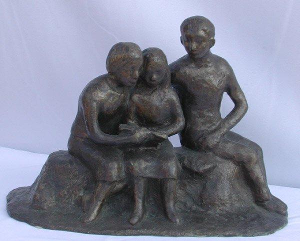 18: Bronze sculpture by Willem Boon