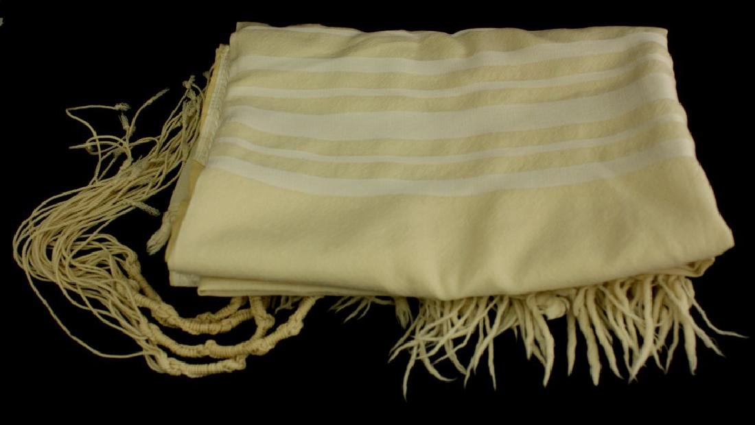 The Holy Prayer Shawl of the Eldest of the Kabbalists