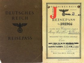 A Passport Of The German Reich [deutsches Reich