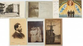 Collection Of About 60 Early Postcards - The Land Of