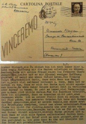 Ferramonti Di Tarsia Concentration Camp, Italy 1943 -