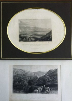 Eight Pretty Engravings Of The Scenery Of The Land Of