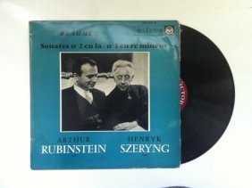 Album Of The Jewish-polish Violinist Henryk Szeryng