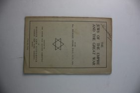 The Jews Of The Empire And The Great War, Rabbi Michael