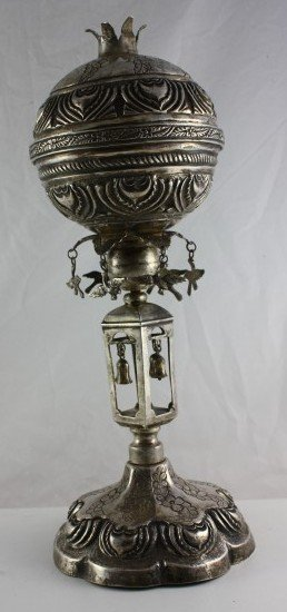 Very Large Spice Tower - Silver - Italy, the 18th